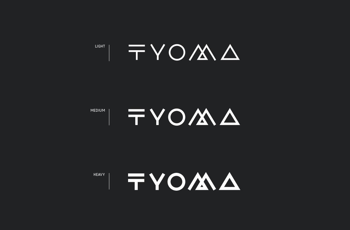 tyoma-schriftschnitte